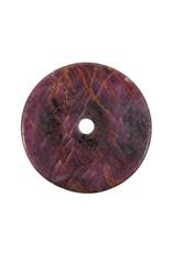 Robijn hanger donut 4,3 cm