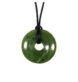 Jade hanger donut 3 cm