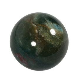 Heliotroop edelsteen bol 46 - 48 mm