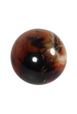Carneool edelsteen bol 60 mm | 289 gram