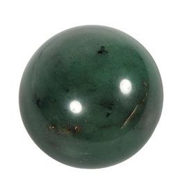 Jade edelsteen bol 68 mm | 455 gram