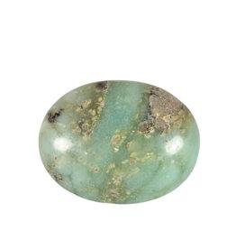 Chrysopraas steen plat gepolijst