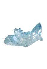 Aqua aura cluster 6,5 x 4,1 x 2,4 cm   43 gram