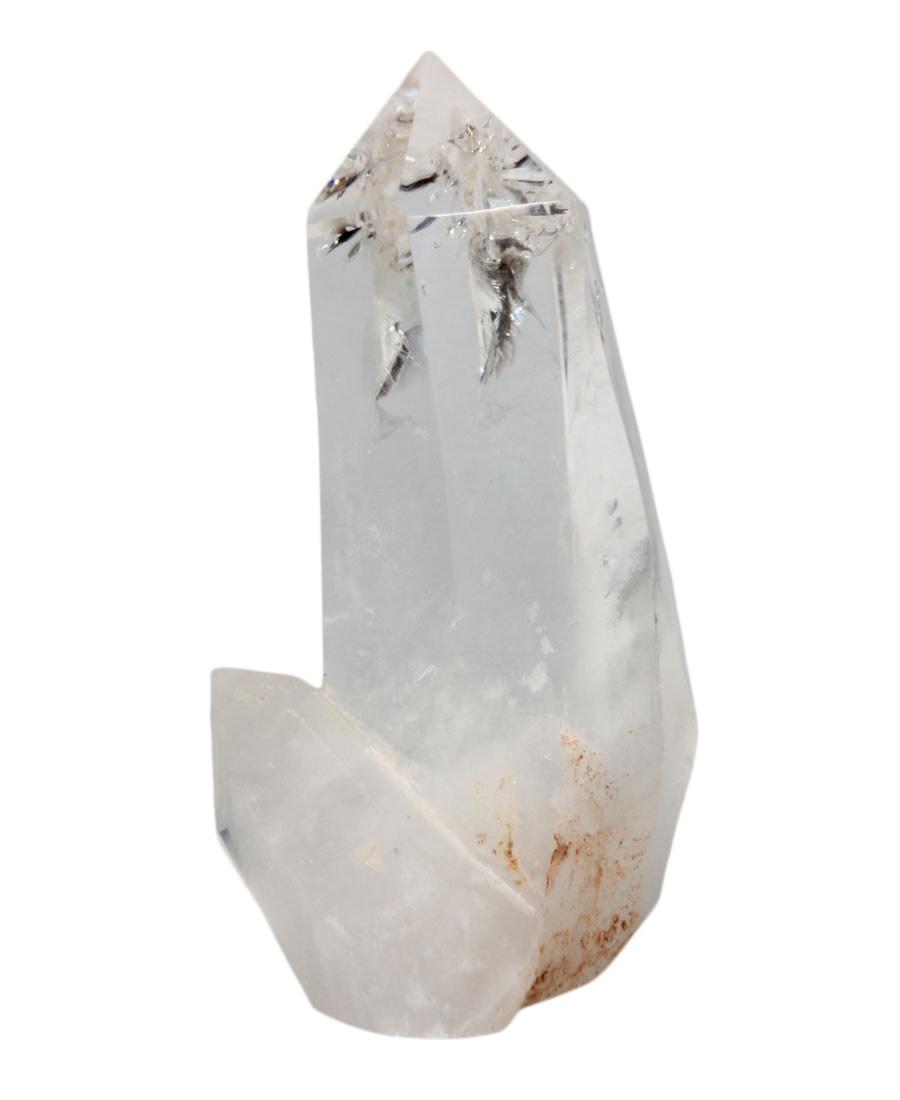 Bergkristal punt geslepen 13,5 x 6 x 5,5 cm   564 gram