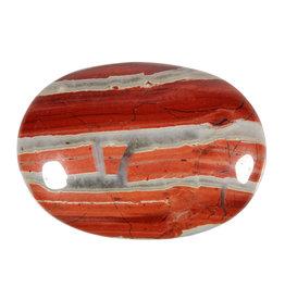 Jaspis (rood) handsteen