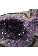 Amethist geode 22 x 6,5 x 12 cm   1964 gram