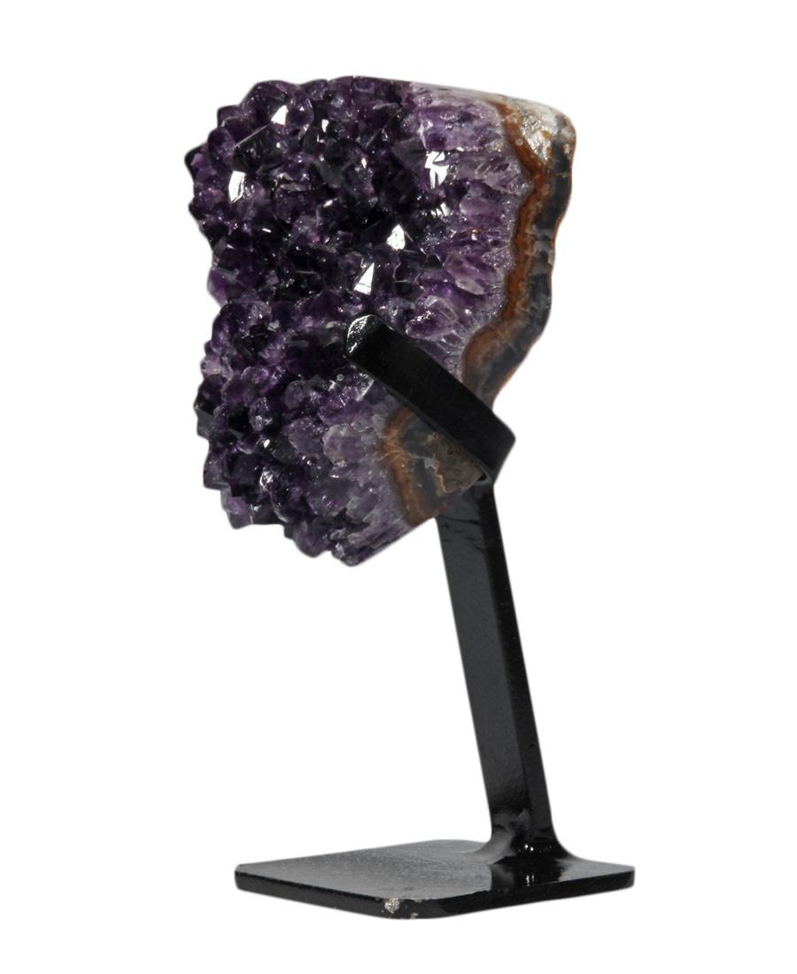 Amethist cluster 12 x 10 x 6 cm / 863 gram | met standaard
