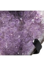 Amethist cluster 17 x 15,5 x 6 cm / 1479 gram | met standaard