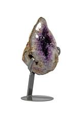 Amethist cluster 23 x 15 x 15,5 cm / 4460 gram | met standaard