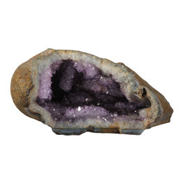 Amethist geode met stalactieten 27 x 25 x 14 cm | 6,90 kg