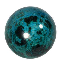 Chrysocolla edelsteen bol 58 mm   310 gram