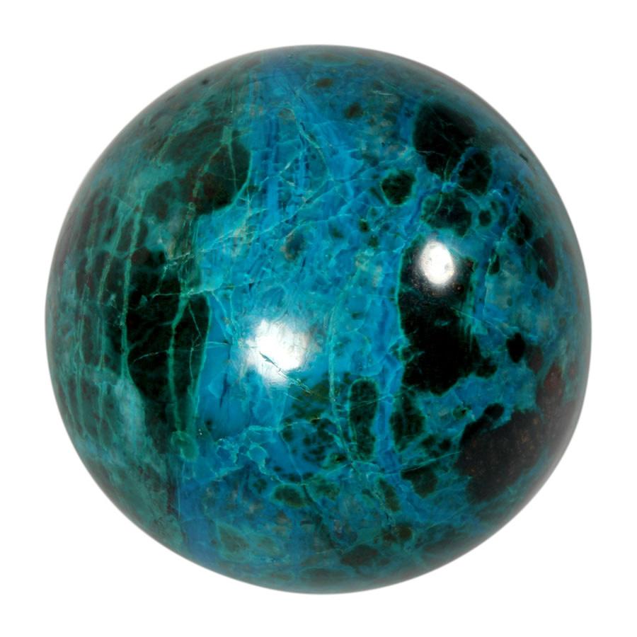 Chrysocolla edelsteen bol 58 mm | 310 gram