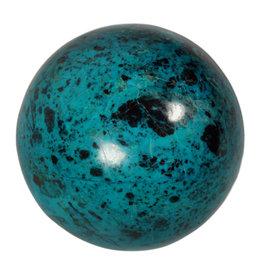 Chrysocolla edelsteen bol 67 mm   372 gram