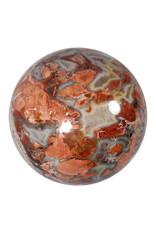 Jaspis (breccie) edelsteen bol 145 mm   4,47 kg