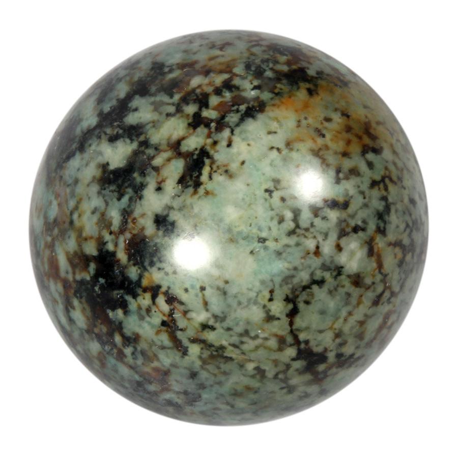 Turkoois edelsteen bol 60 mm   321 gram
