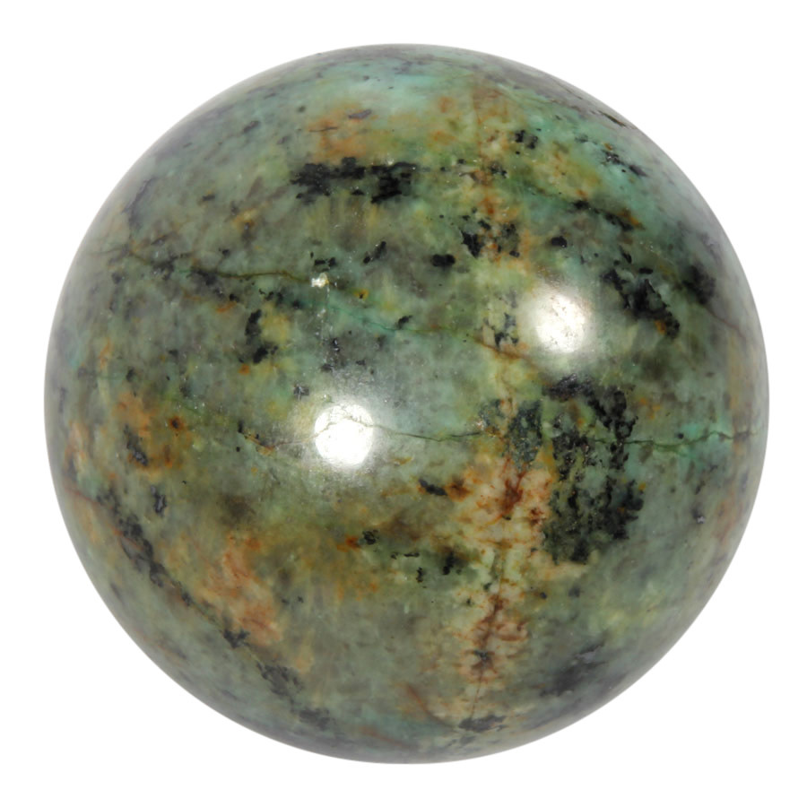Turkoois edelsteen bol 60 mm | 305 gram