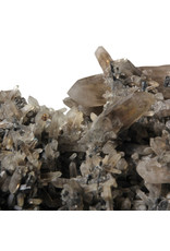 Rookkwarts cluster met toermalijn (zwart) 17 x 10 x 7 cm | 822 gram