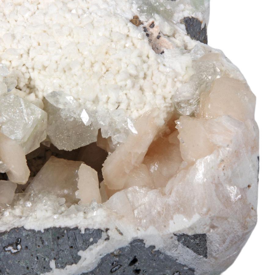 Stilbiet met heulandiet en apofylliet cluster 17 x 12 x 9 cm | 2340 gram