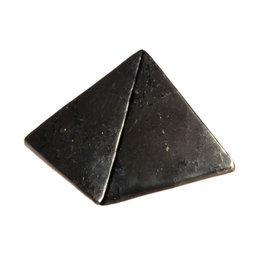 Shungiet edelsteen piramide A-kwaliteit 6 cm