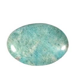Amazoniet steen plat gepolijst