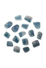 Fluoriet (blauw) steen getrommeld 5 - 10 gram