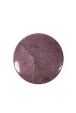 Jade (paars) steen plat gepolijst