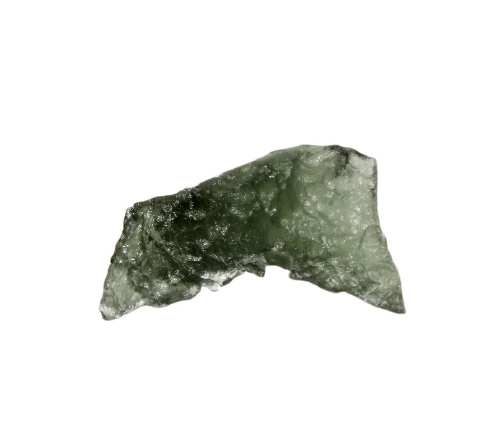 Moldaviet ruw 2,5 x 1,4 x 1 cm   2,88 gram