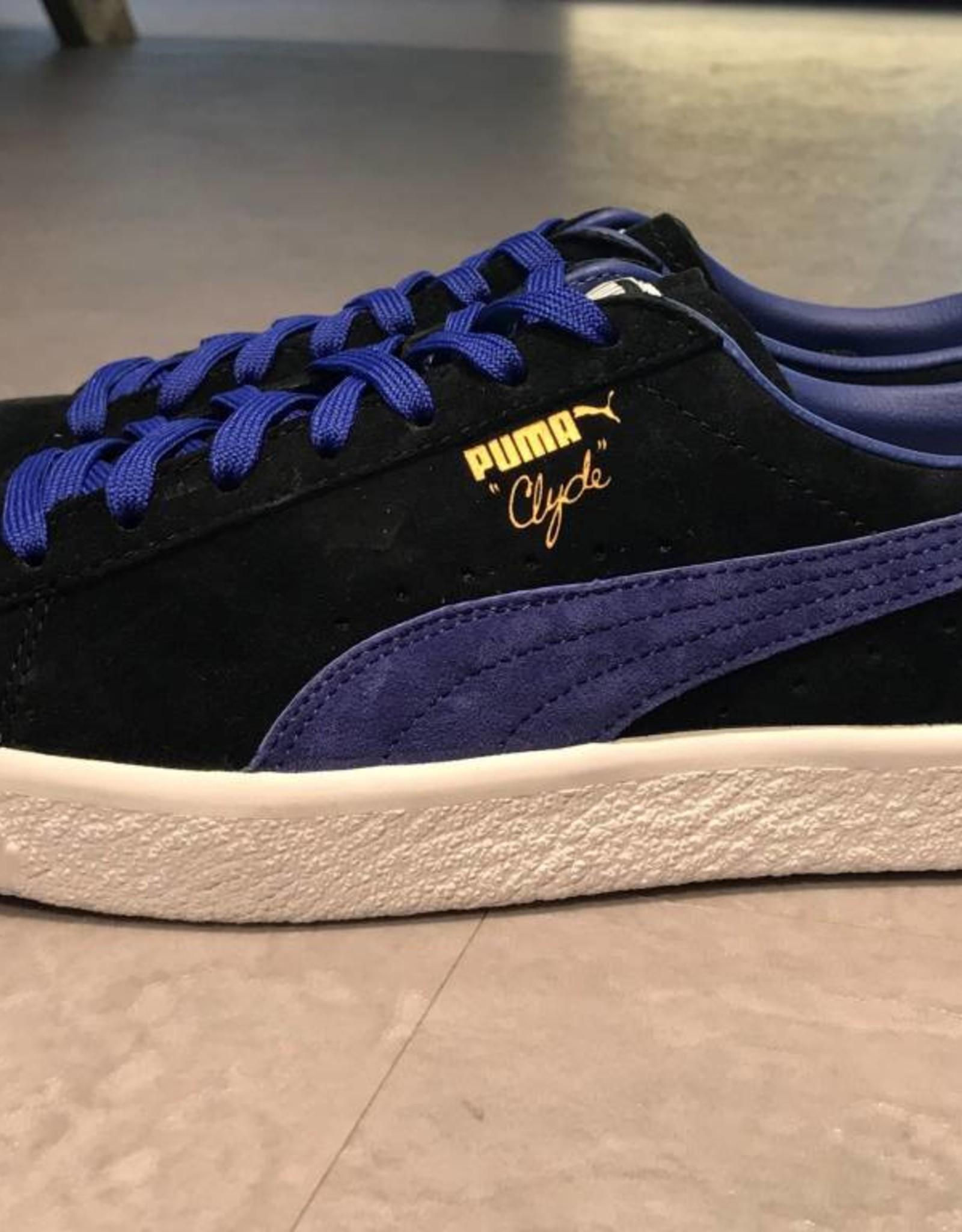 Puma Puma Clyde Black / Electric blue