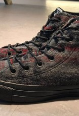 Converse Converse by Woolrich Star Player Grey Wool Plaid