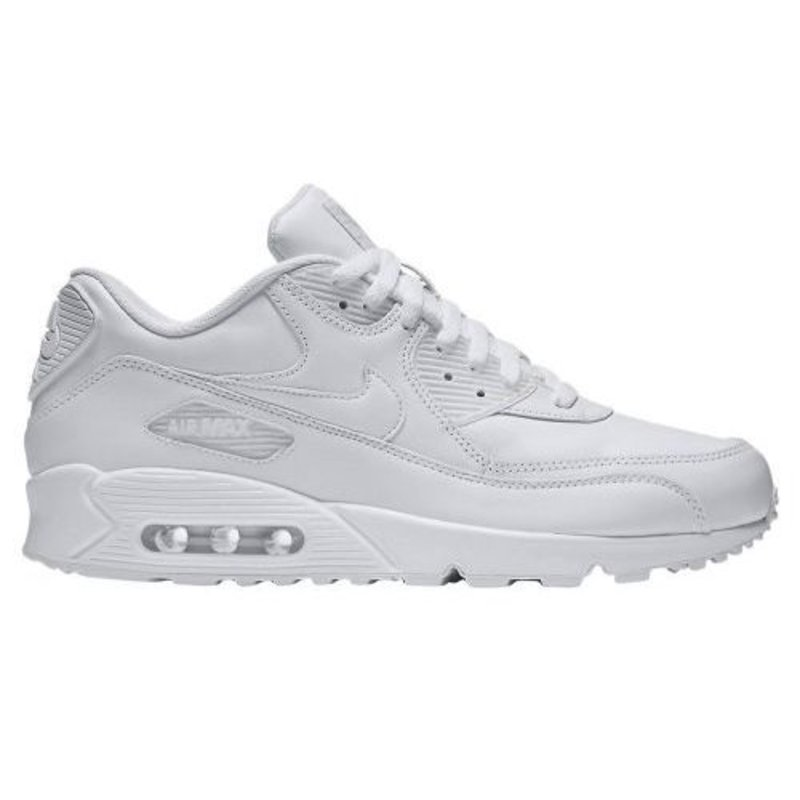 Nike Air Max 90 Leather Wit - Heren Sneaker - 302519-113