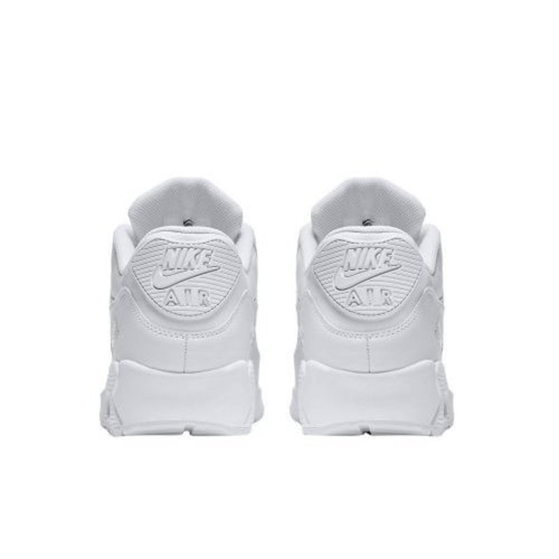 Nike Air Max 90 Leather Wit Heren Sneaker 302519 113