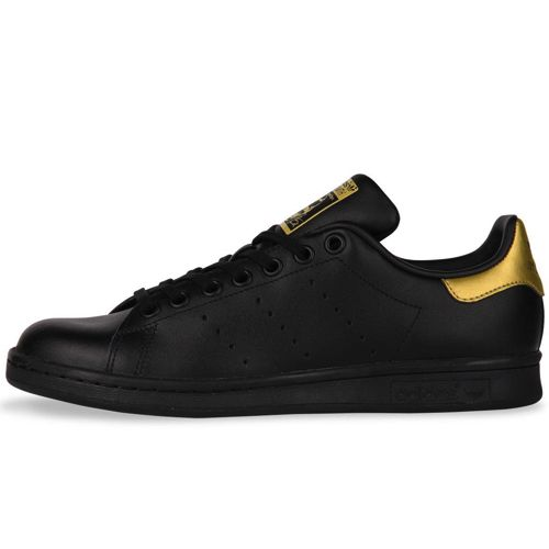 adidas stan smith zwart goud