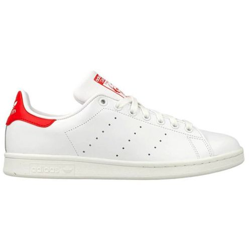 adidas stan smith wit met rood