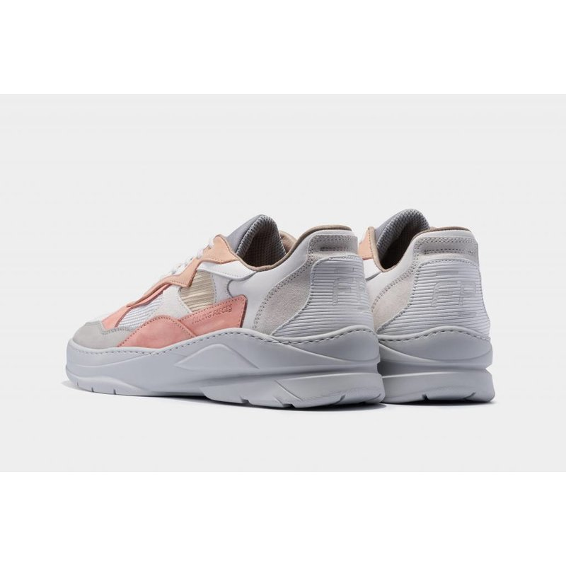 low fade cosmo infinity white / pink