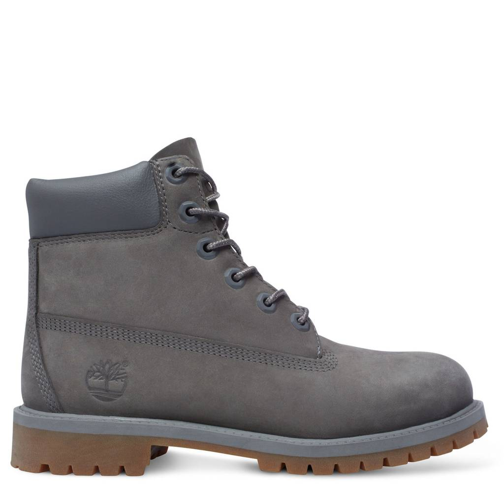Icon 6-Inch Premium Boot Junior Grey