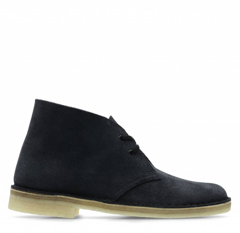 Desert Boot W Ink Suede