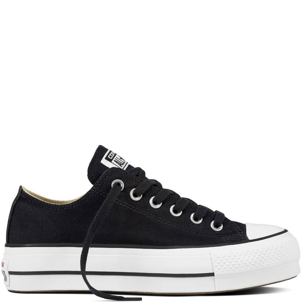 f7cc418a1a1 Converse Chuck Taylor All Star Lift Platform Zwart - Sneakers - Dames -  Kicksshop.nl