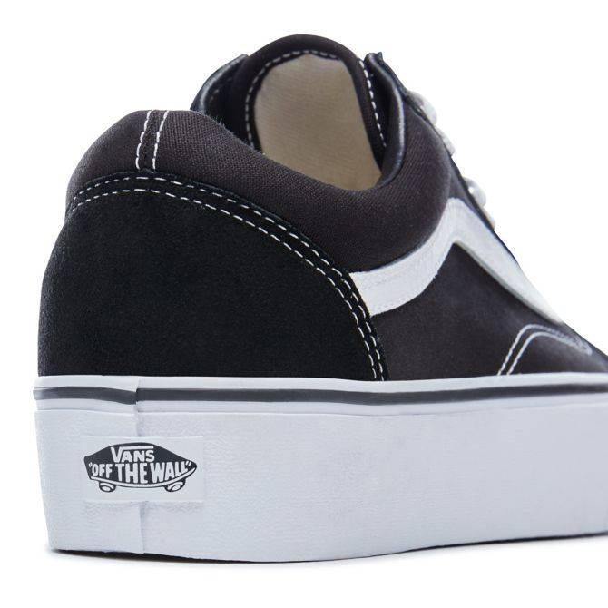 Platform Old Skool Black / White