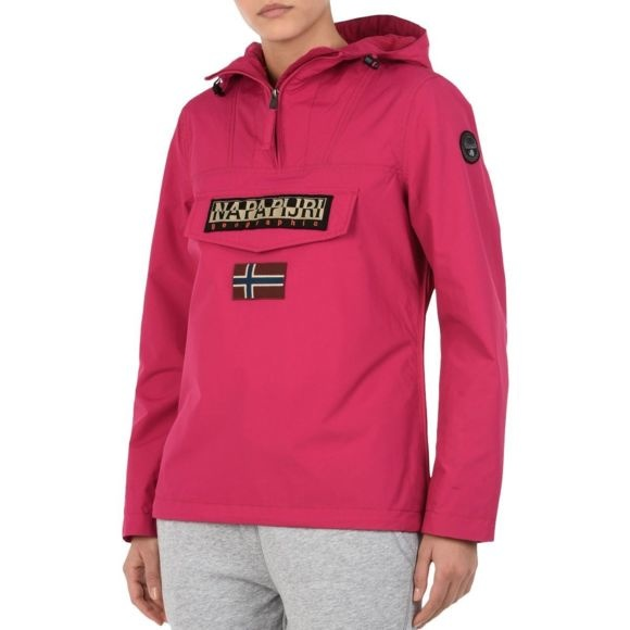 Rainforest W Summer Anorak Fucsia Dames