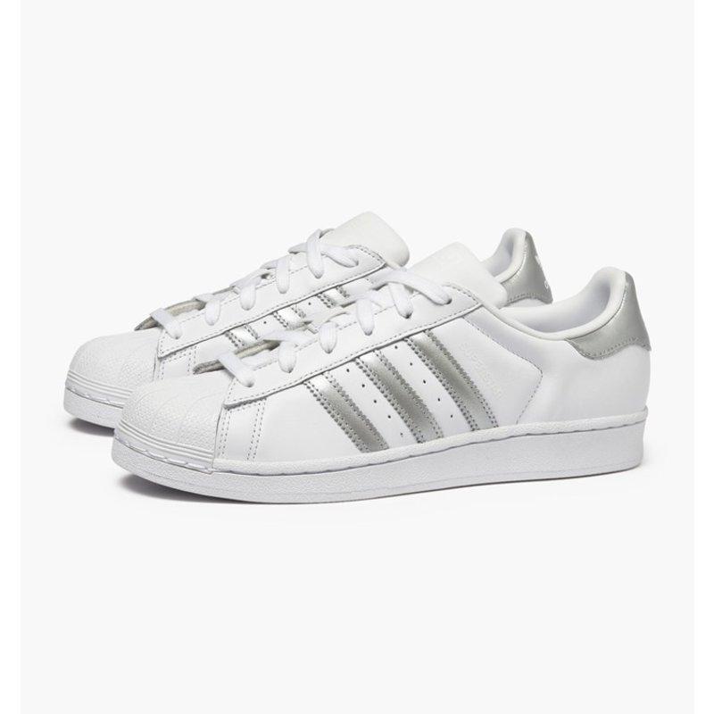 Adidas Superstar Wit Grijs Dames Sneaker D97998