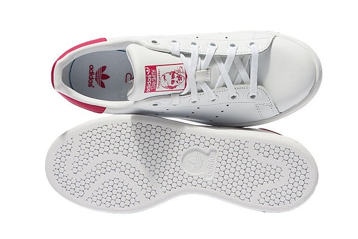Stan Smith J Wit / Roze
