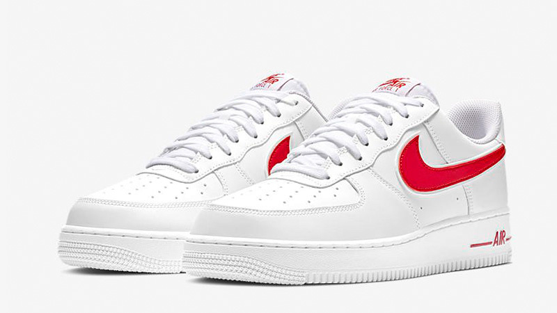 Air Force 1 '07 Wit/Gym Red