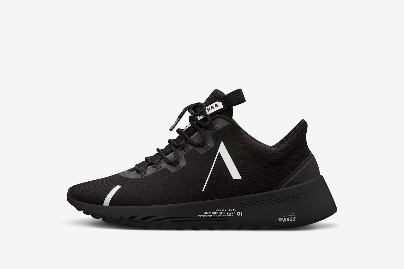 Axionn Mesh PWR55 All Black White - Men