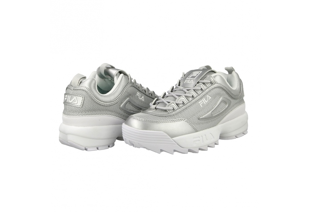 Disruptor MM Low WMN Silver