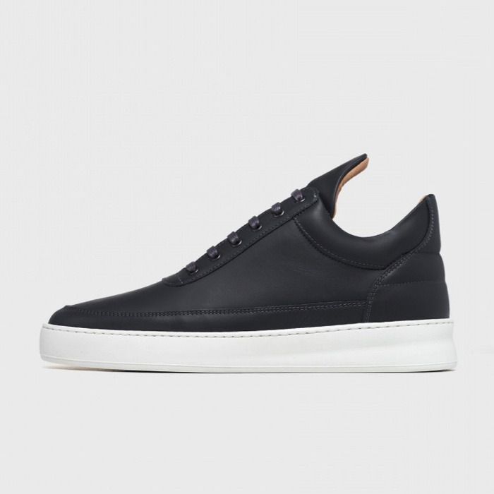 Low Top Plain Matt Nappa Antracite