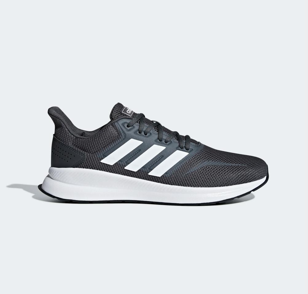 Adidas Runfalcon Grijs Wit F36200 Heren Sneaker