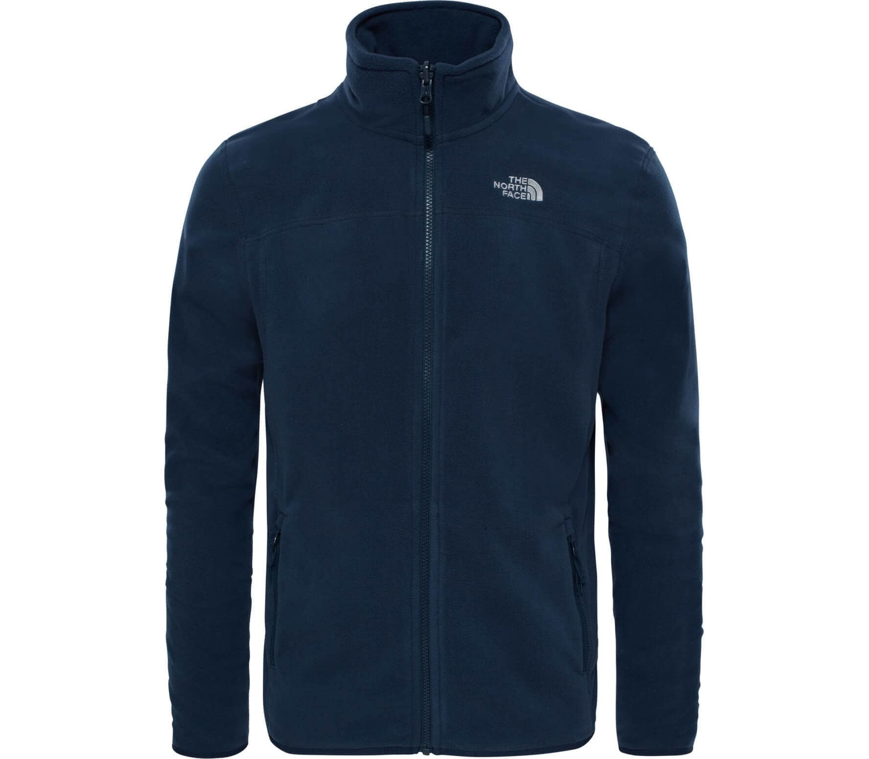 100 Glacier Full-Zip Fleece Jas Donkerblauw