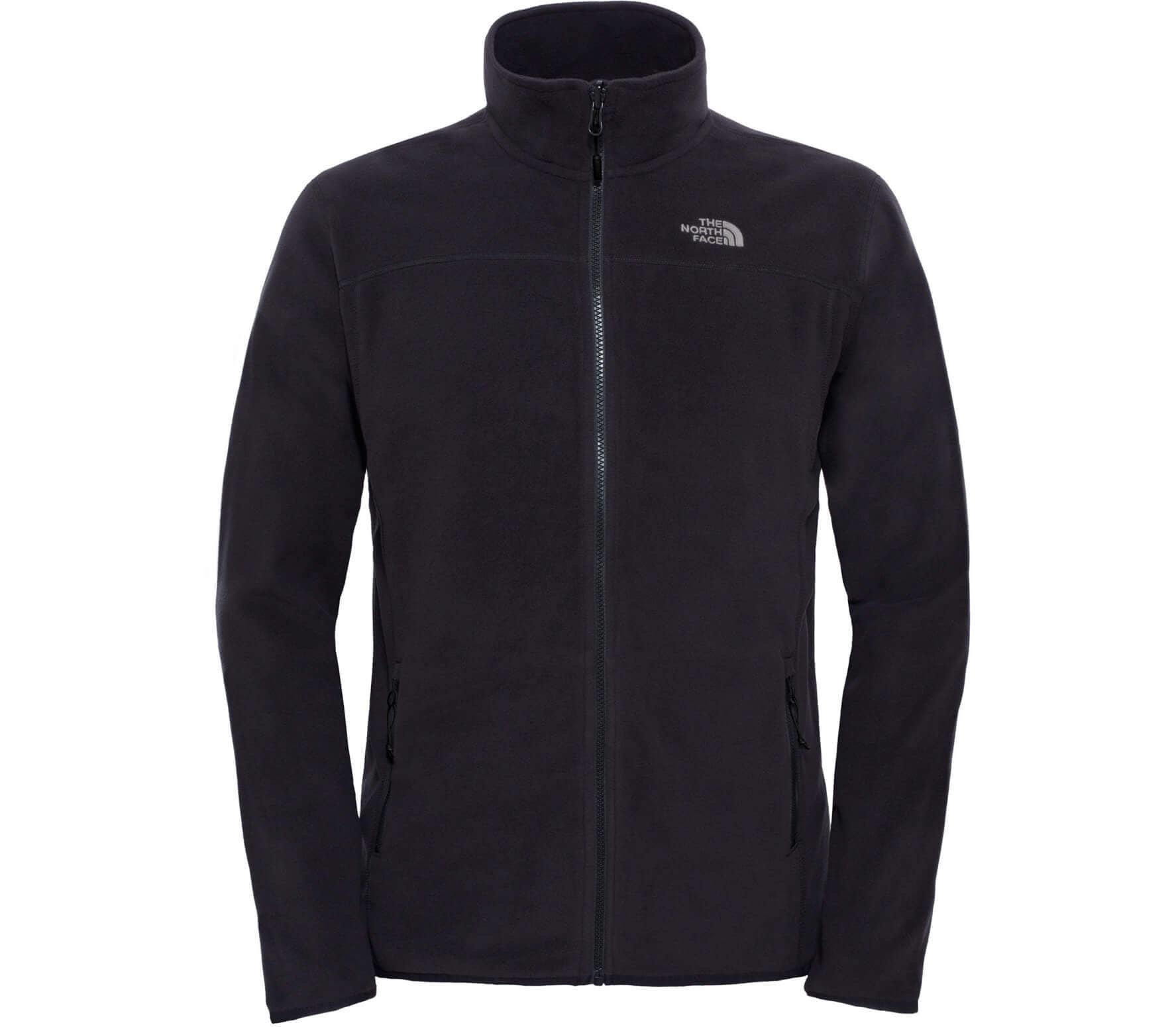 100 Glacier Full-Zip Fleece Jas Zwart