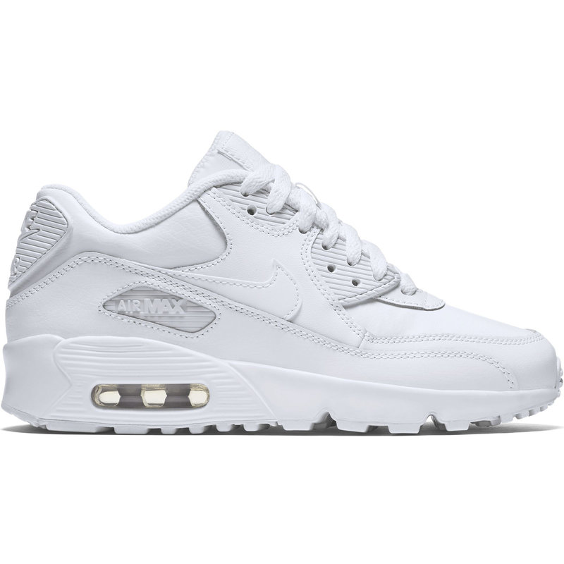 Air Max 90 Leather GS Wit