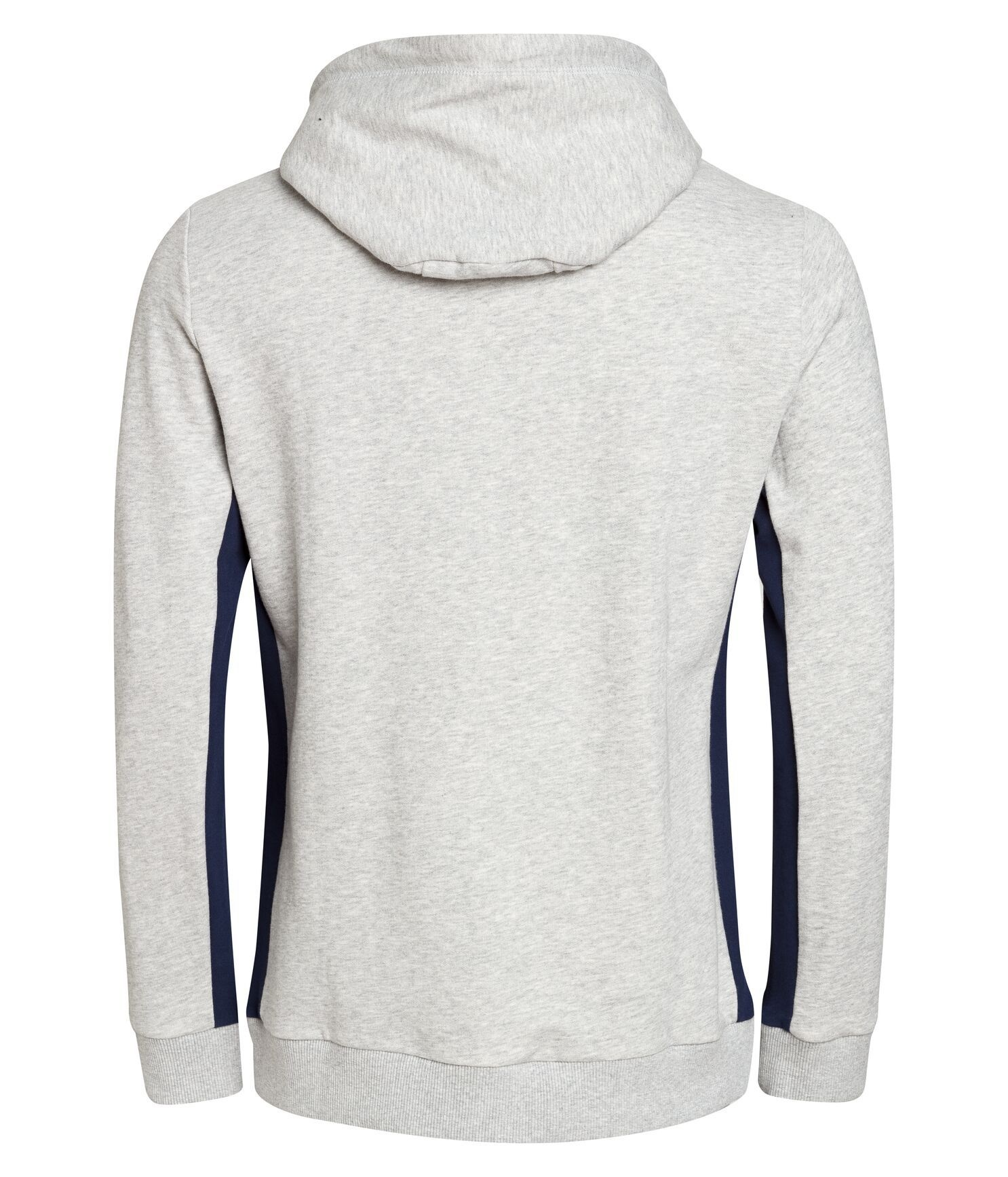 Elliot Hoodie Light Grey Melange
